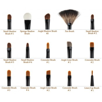 32PCS Cosmetic Makeup Brush Set and Bag