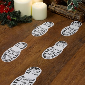 Christmas Craft - Santa's Boot Prints - 12