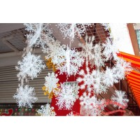 Christmas decoration white Christmas hanging decoration