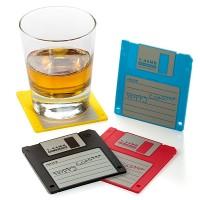 Floppy Coasters 4pcs