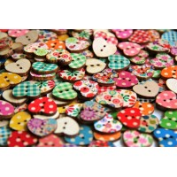 Random button mix - 50pcs
