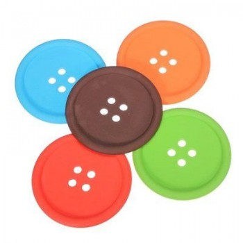 Button Shaped Coasters