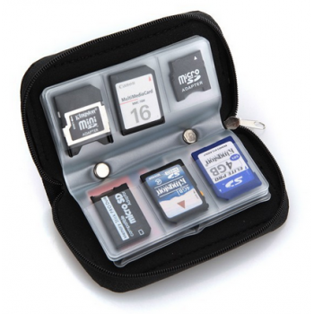Memory Card Case - 22 Slots