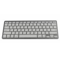 Mini Bluetooth Wireless Keyboard for Apple iPad 2 White