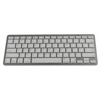 Mini Bluetooth Wireless Keyboard for Apple iPad 2 White