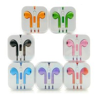 Earphones with Mic in multiple colors